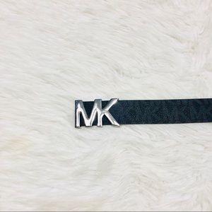 Michael Kors Accessories - Michael kors silver logo belt